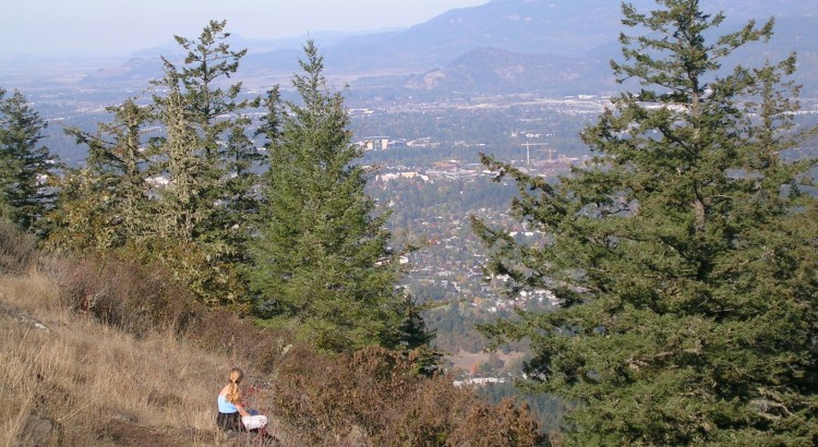 View from Spencer's Butte